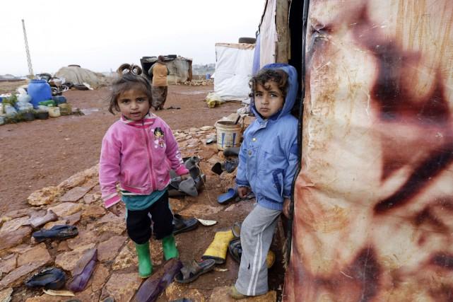 Depuis le début du conflit en Syrie il... (PHOTO ANWAR AMRO, ARCHIVES AFP)