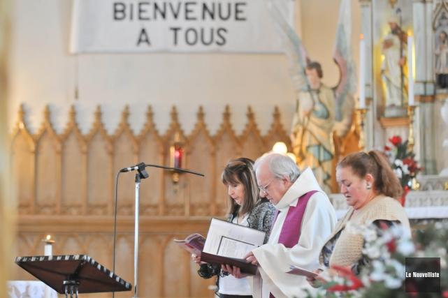 L'église de Sainte-Anne-de-la-Pérade est à nouveau accessible aux... (Photo: Émilie O'Connor Le Nouvelliste)