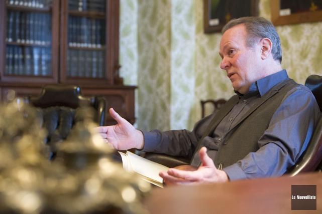Pierre Bacon, vice-président de la table régionale du... (Photo: Stéphane Lessard Le Nouvelliste)