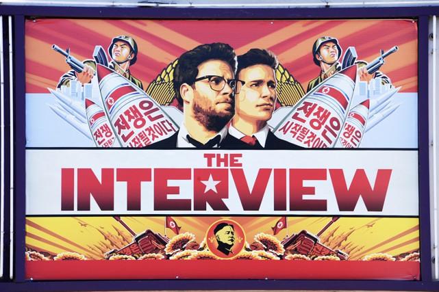Pour la Corée du Nord, cette comédie parodique... (PHOTO ROBYN BECK, ARCHIVES AFP)