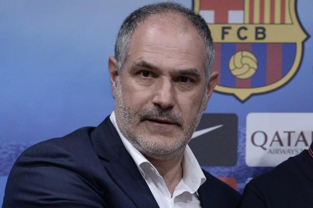 Andoni Zubizarreta était ledirecteur sportif du FC Barcelone... (Photo Josep Lago, archives AFP)