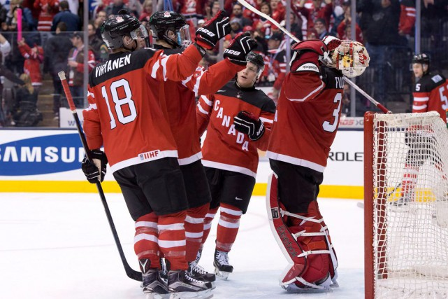 Le Canada affrontera la Russie en finale du... (La Presse Canadienne)