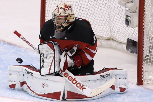 Zachary Fucale a accordé seulement deux buts en quatre... (Photo Steve Russell, Toronto Star)