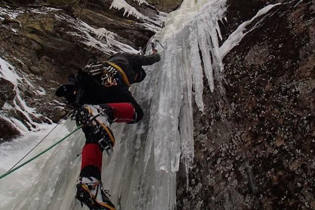 Véritable passionné d'alpinisme, Dominique Morin de Chicoutimi est... (Courtoisie)