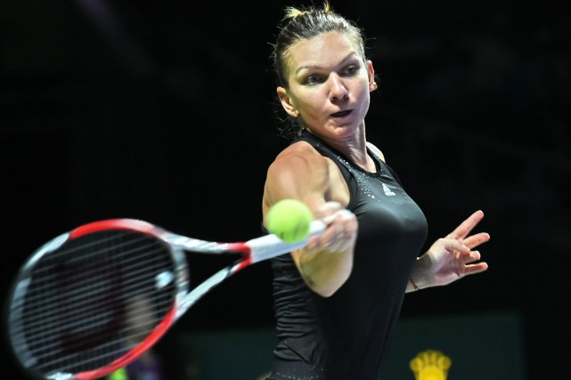 Simona Halep... (Photo Roslan Rahman, archives AFP)