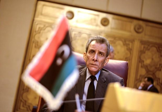 Le représentant de la Libye auprès de la... (Photo MOHAMED EL-SHAHED, AFP)