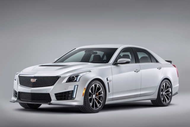 La Cadillac CTS-V 2016... (Photo fournie par Cadillac)