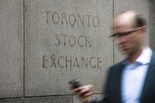 Le nombre de premiers appels publics à l'épargne a diminué au Canada l'an... (Photo Aaron Vincent Elkaim, PC)