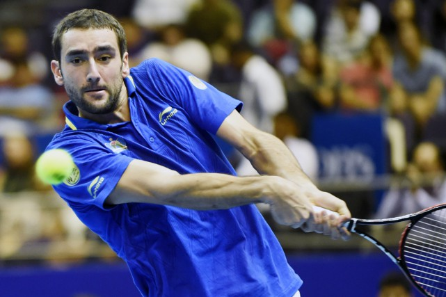 Marin Cilic... (Photo Roslan Rahman, archives AFP)