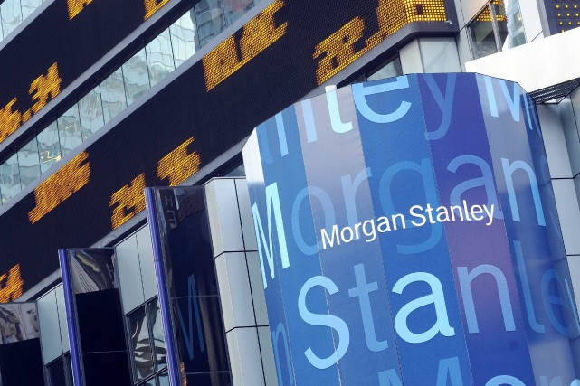 Un employé de la banque d'affaires américaine Morgan Stanley a volé des données... (Photo Richard Drew, AP)