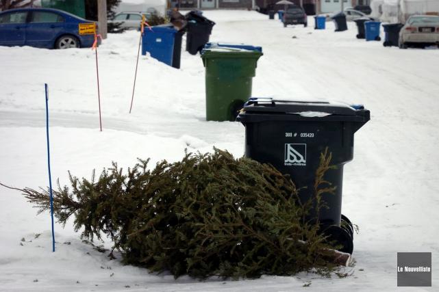 Le sapin de Noël a été reconduit à... (Photo: François Gervais Le Nouvelliste)