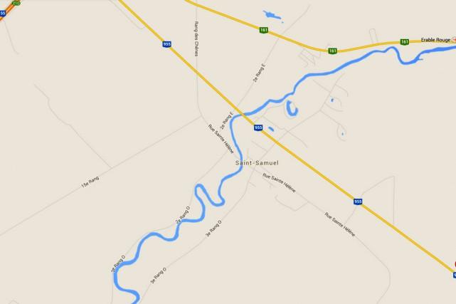 Une femme d'une vingtaine d'années luttait pour sa survie lundi après-midi à la... (Capture d'écran Google Maps)