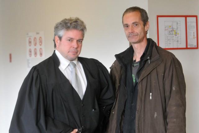 Me Charles Cantin et Jean-François Gaudreault.... ((Archives))