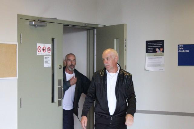 Laurent et Yvon Larouche ont été acquittés des... ((Archives))