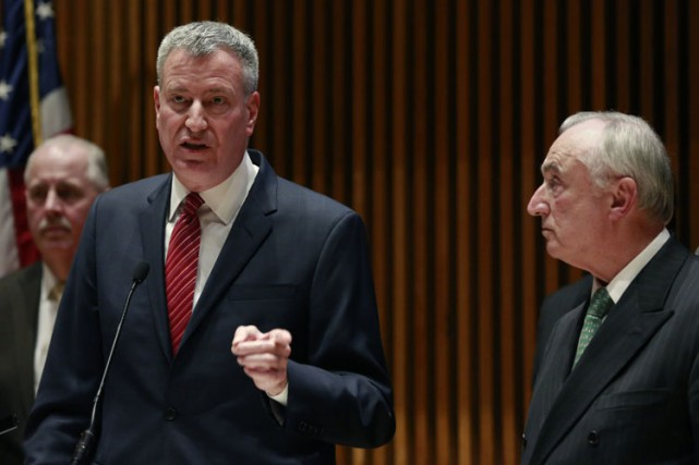Le chef de la police new-yorkaise Bill Bratton,... (Photo: Reuters)