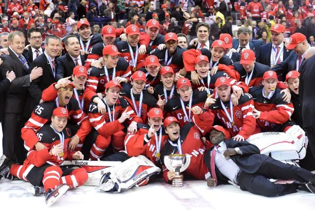 Le Canada a remporté le Championnat mondial de... (Frank Gunn, La Presse Canadienne)