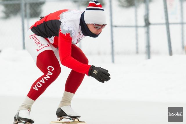 Après avoir été couronné champion canadien sur 500... (Photothèque Le Soleil, Caroline Grégoire)