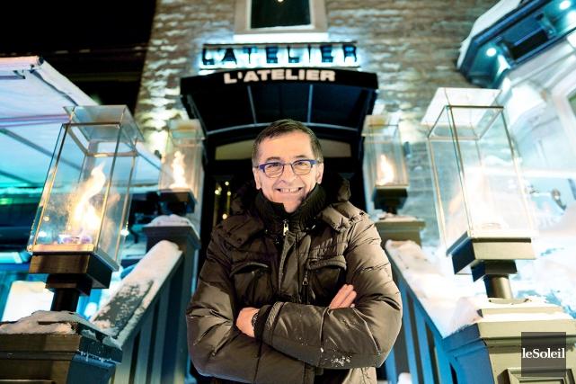 Le fondateur et ex-propriétaire du Savini, James Monti... (Le Soleil, Erick Labbé)