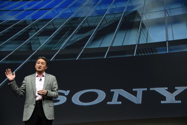 Le patron de Sony,Kazuo Hirai.... (Photo archives AFP)