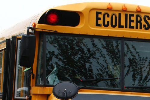 Les élèves sont de retour en classe, cette semaine, et la Sûreté du Québec...