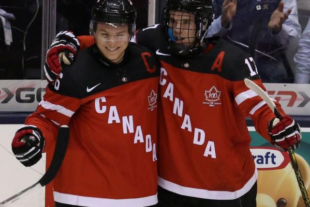 Comment avez-vous trouvé la performance d'Équipe Canada Junior sous la gouverne... (Archives)