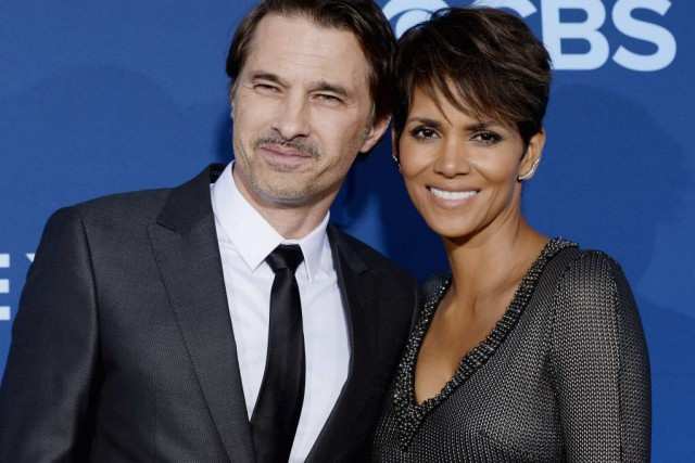 L'acteur français Olivier Martinez, et Halle Berry.... (Photo Kevork Djansezian, Archives Reuters)