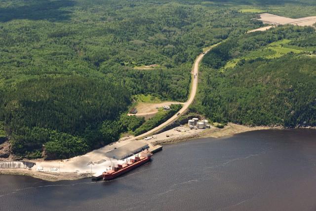 Les promoteurs du projet GNL Québec Inc. de la société Ruby River Capital,... (Archives)