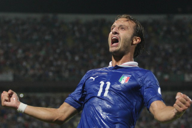 Alberto Gilardino... (Photo Marcello Paternostro, archives AFP)