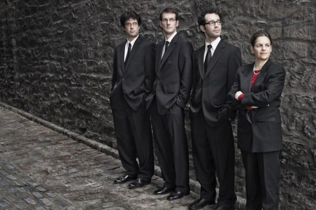 Le Quatuor Molinari propose un dialogue avec le... (Photo fournie par la production)