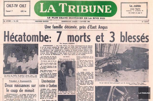 Le drame qui avait décimé la famille de... (Archives La Tribune)