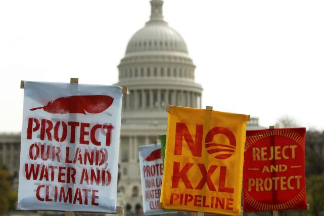 Barack Obama pourrait utiliser son veto pour bloquer... (Photo GARY CAMERON, Archives Reuters)
