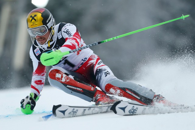 Marcel Hirscher... (Photo Antonio Bronic, Reuters)