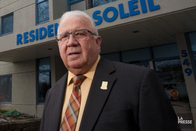 Des employés du manoir Sherbrooke des Résidences soleil ont remporté une... (Archives La Presse)
