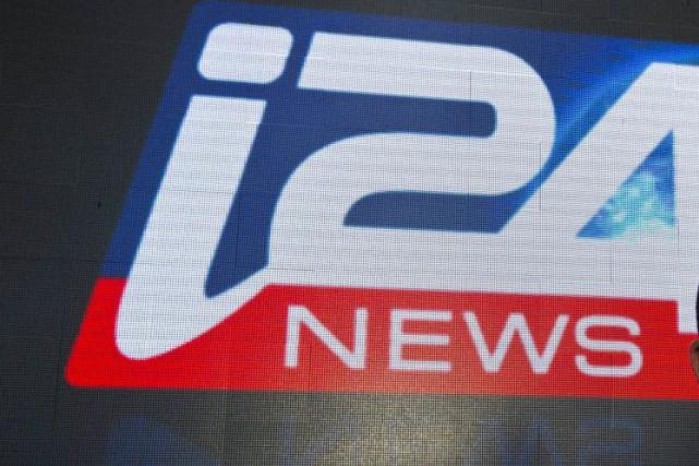 La chaîne d'information internationale I24 News, basée en Israël et créée par... (PHOTO JACK GUEZ, AFP)