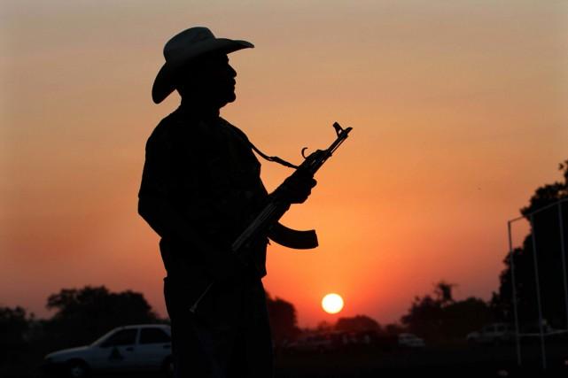 Début 2013, des milices d'autodéfense s'étaient formées dans... (Photo AP)