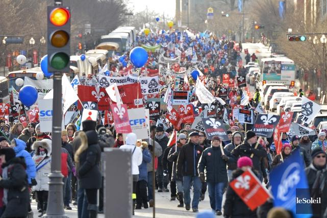 C'est une loi sociale et politique immuable au Québec. Un gouvernement qui veut... (Photo Le Soleil)