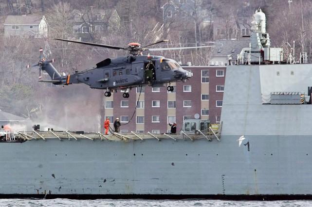 La Défense nationale a évalué discrètement les bénéfices... (Photo ANDREW VAUGHAN, PC)