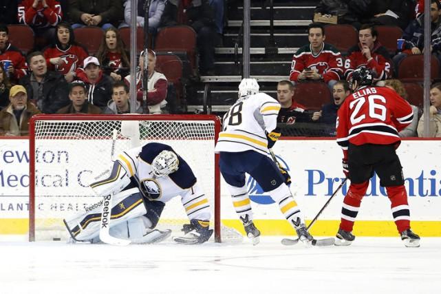 Patrik Elias a récolté un but et deux passes alors que les Devils du New Jersey... (Photo: AP)