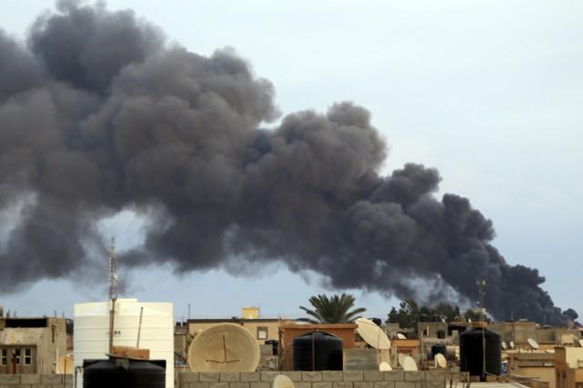 La Libye est plongée dans le chaos depuis... (Archives Reuters)