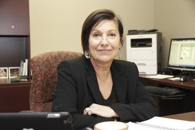 La directrice de l'OMH, Sylvie Lafontaine, précise que... (photo Julie Catudal)