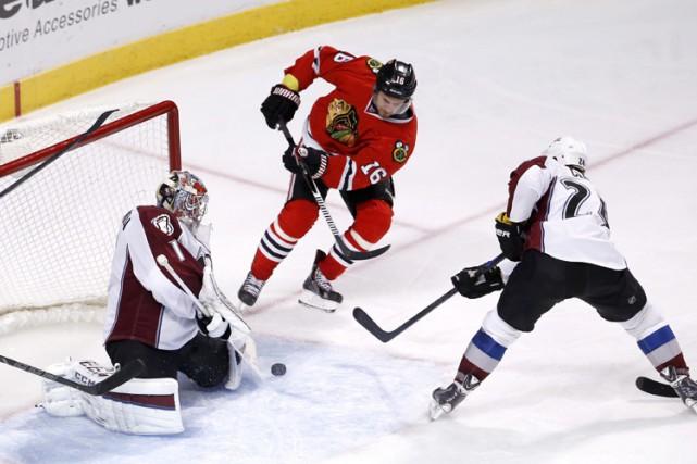 Semyon Varlamov a bloqué 54 tirs en route vers un troisième jeu blanc cette... (Photo: AP)