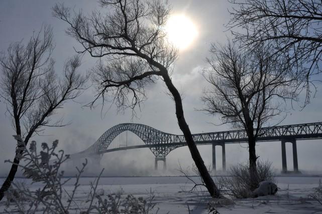 Le froid extrême des derniers jours n'a pas... (Photo: Archives Stéphane lessard)