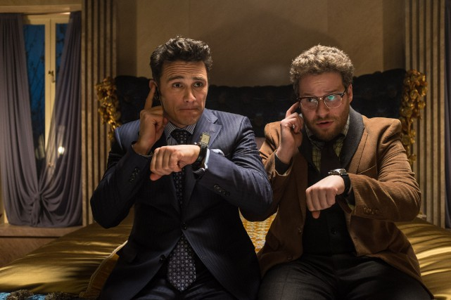 James Franco et Seth Rogen dans The Interview ... (Photo AP/Columbia Pictures)