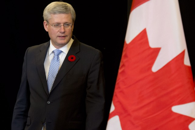 Stephen Harper... (PHOTO ADRIAN WYLD, ARCHIVES LA PRESSE CANADIENNE)