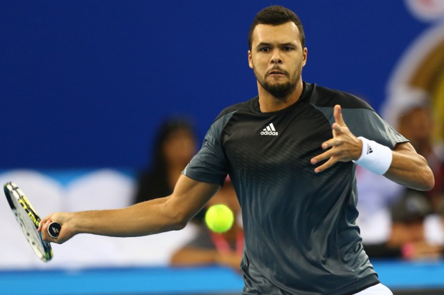 Jo-Wilfried Tsonga... (Photo Marwan Naamani, archives AFP)