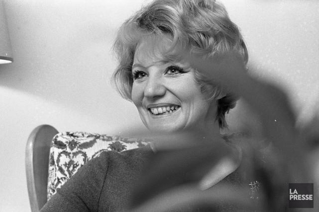 Suzanne Lapointe en 1969... (Pierre Mccann, archives La Presse)