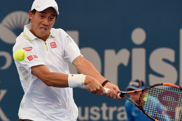 Kei Nishikori... (Photo Saeed Khan, AFP)