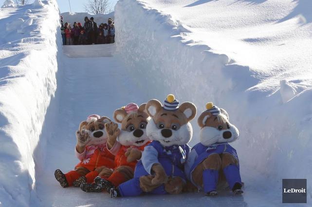 Le temps froid a beau en faire rager certains, il est plus que bienvenu au parc... (Archives, LeDroit)