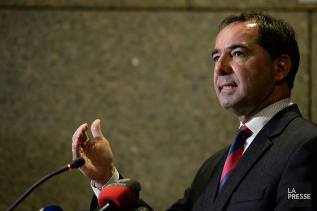 Le porte-parole du Directeur des poursuites criminelles et... (PHOTO: BERNARD BRAULT, LA PRESSE)