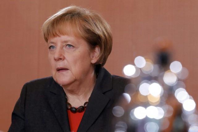 Le site internet de la chancelièreAngela Merkela a... (PHOTO FABRIZIO BENSCH, ARCHIVES REUTERS)